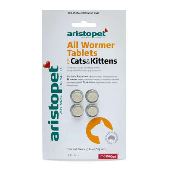Aristopet All Wormer for Cats and Kittens - 4 Tablets 1
