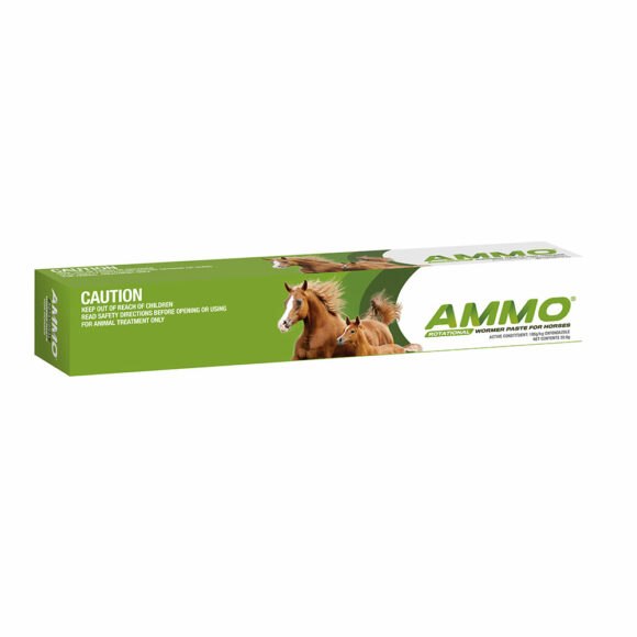 Ammo Rotational Wormer Paste for Horses and Foals 32.5g Syringe 1
