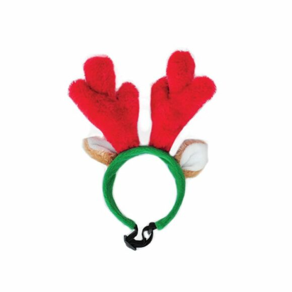 ZippyPaws Holiday Antlers Small 1