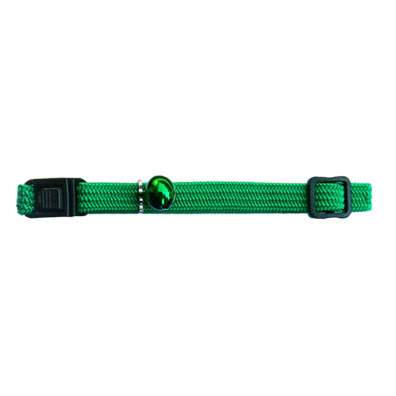 Beau Pets Nylon Elastic Cat Collar - Green 1