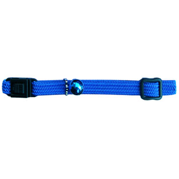 Beau Pets Nylon Elastic Cat Collar - Blue 1