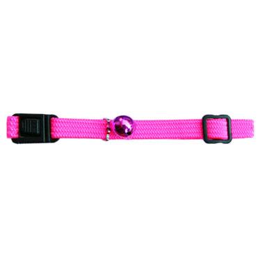 Beau Pets Nylon Elastic Cat Collar - Pink 1