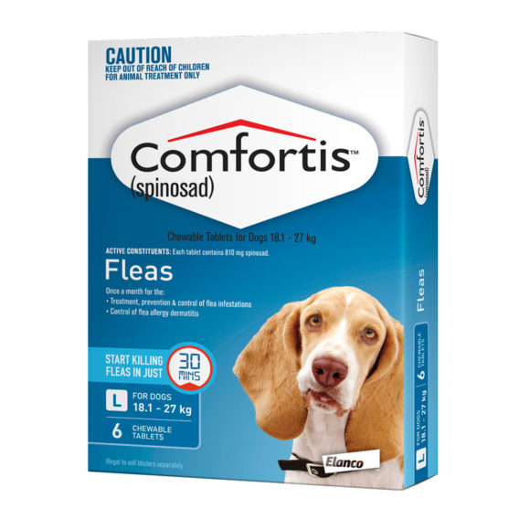 Comfortis Blue Chews for Large Dogs - 6 Pack 1