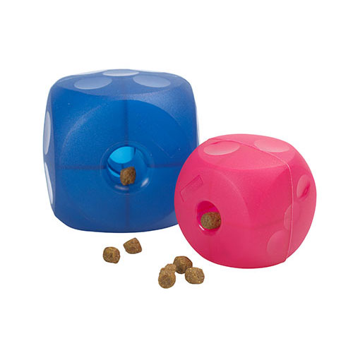 Buster Magenta Red Soft Cube for Dogs 1