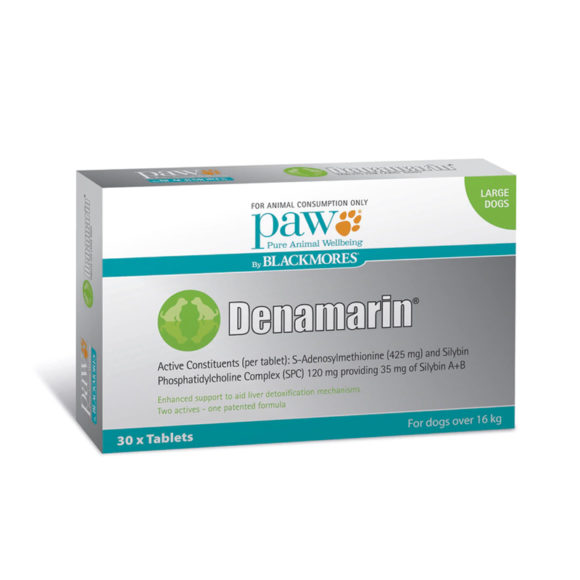 PAW Denamarin 425mg for Large Dogs - 30 Pack 1