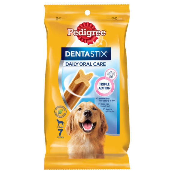 Pedigree DentaStix Dental Treats for Large Dogs - 7 Pack 1