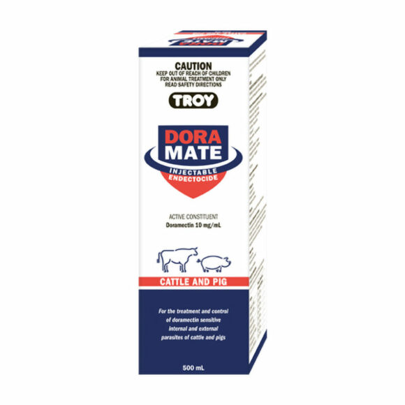 Troy Doramate Injectable Endectocide 500mL 1