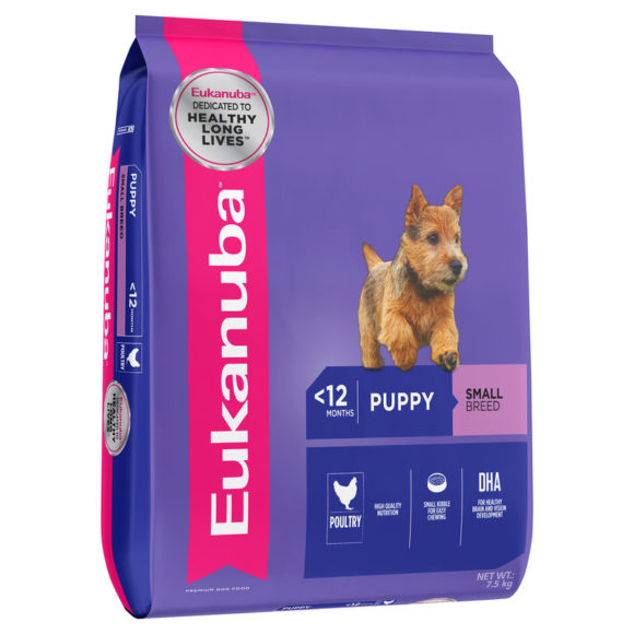 Eukanuba Puppy Small Breed 7.5kg 1
