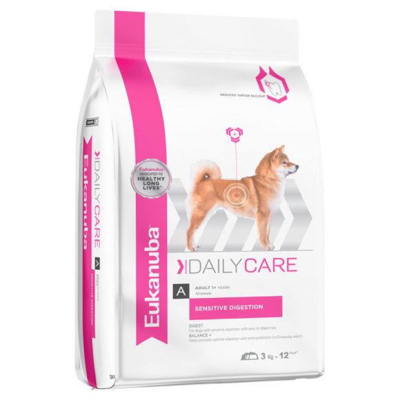 Eukanuba Daily Care Adult Dog Sensitive Digestion 3kg 1