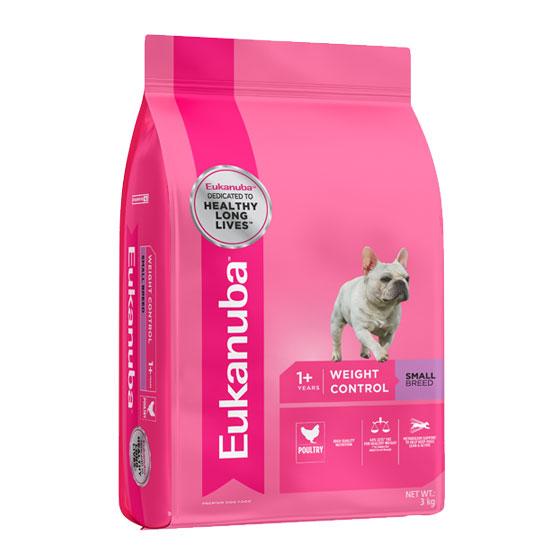 Eukanuba Adult Dog Weight Control Small Breed 3kg 1