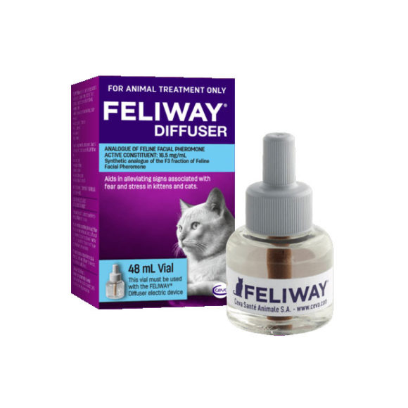 Feliway Diffuser 48ml Vial Refill Only 1
