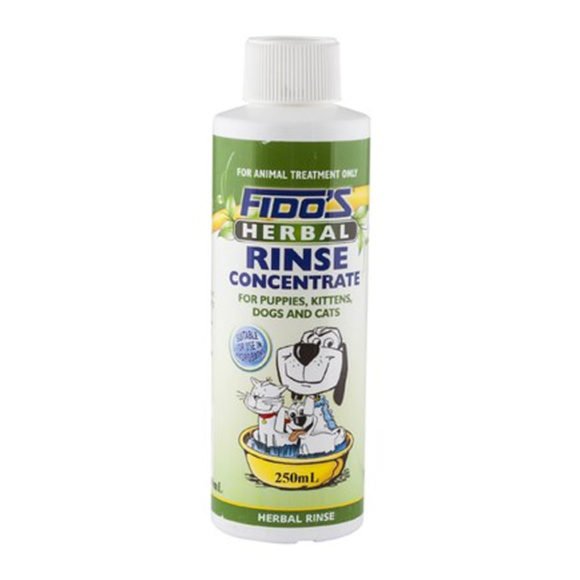 Fido's Herbal Rinse Concentrate 250ml 1