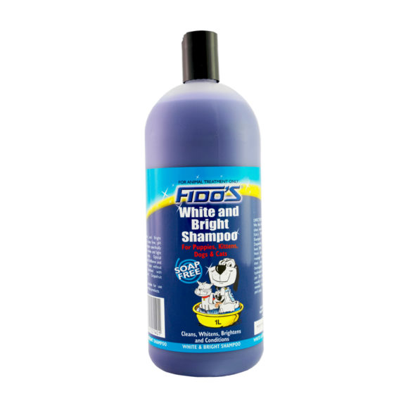 Fido's White and Bright Shampoo 1L 1