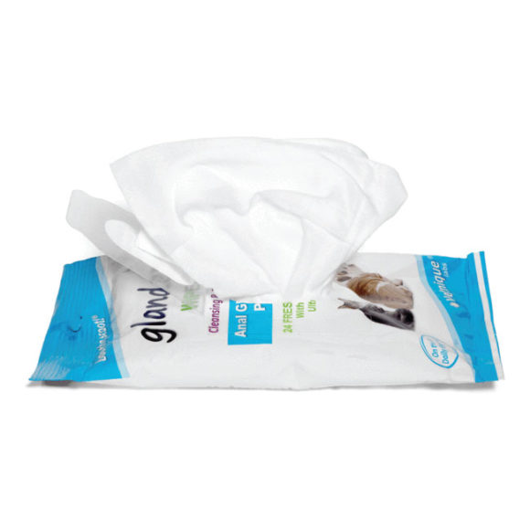 Glandex Anal Gland Hygienic Pet Wipes 24 Pack 2