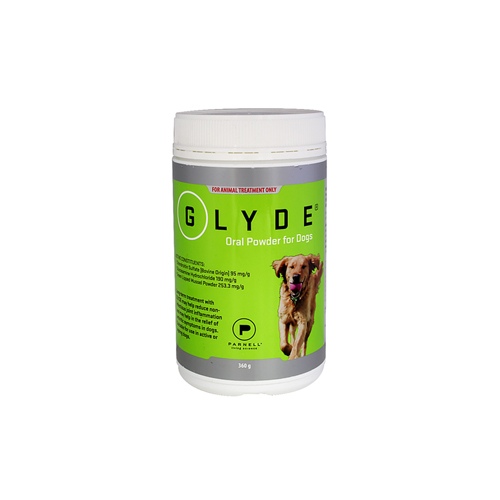 Glyde Oral Powder for Dogs 360g 1