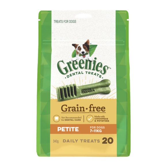 Greenies Grain Free Petite Dental Treats for Dogs - 20 Pack 1