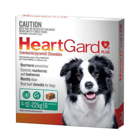 HeartGard Plus Green Chews for Medium Dogs - 6 Pack 1