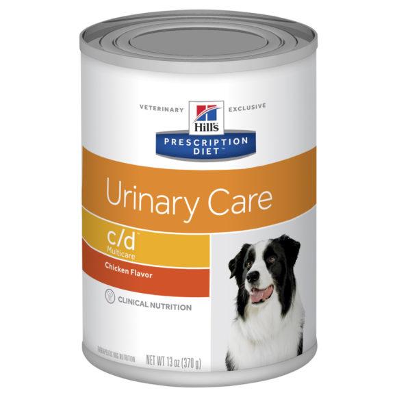 Hills Prescription Diet Canine c/d Urinary Multicare Chicken Flavour 370g x 12 Cans 1