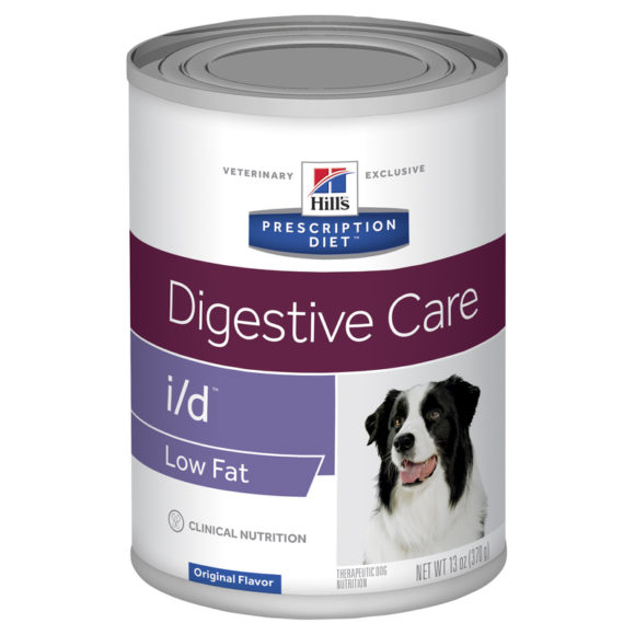 Hills Prescription Diet Canine i/d Digestive Care Low Fat 370g x 12 Cans 1