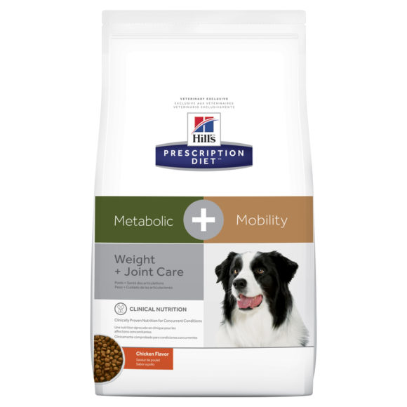 Hills Prescription Diet Canine Metabolic + Mobility 10.8kg 1