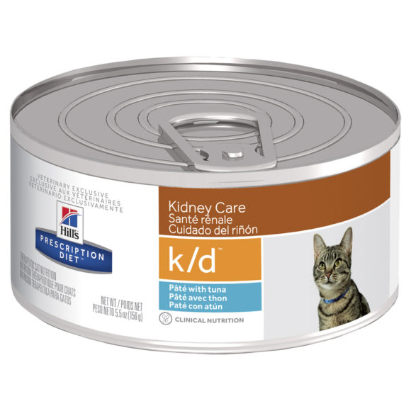 Hills Prescription Diet Feline k/d Kidney Care with Ocean Fish 156g x 24 Cans 1