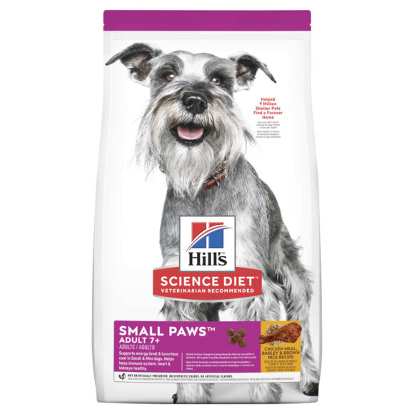 Hills Science Diet Adult Dog 7+ Small Paws 1.5kg 1