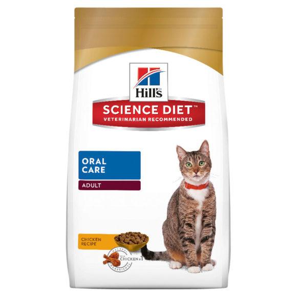 Hills Science Diet Adult Cat Oral Care 4kg 1