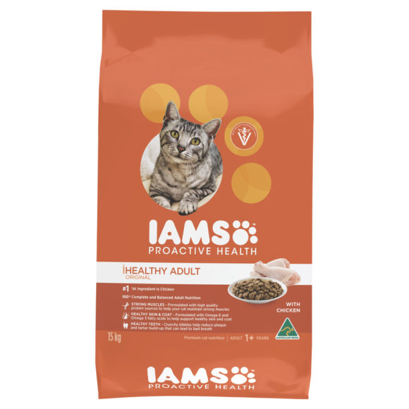 IAMS Adult Cat Chicken 15kg 1