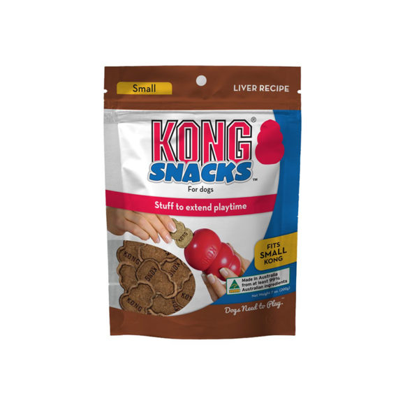 Kong Snacks for Dogs Liver Recipe Small 200g 1