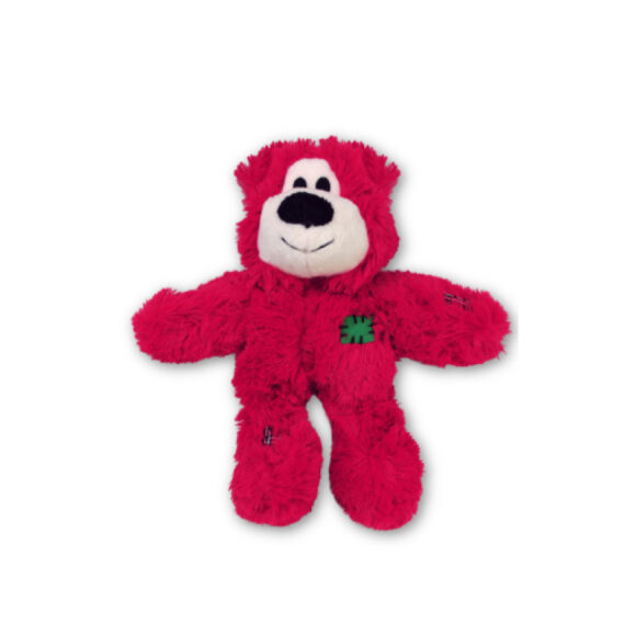 KONG Dog Christmas Wild Knot Bear Red 1