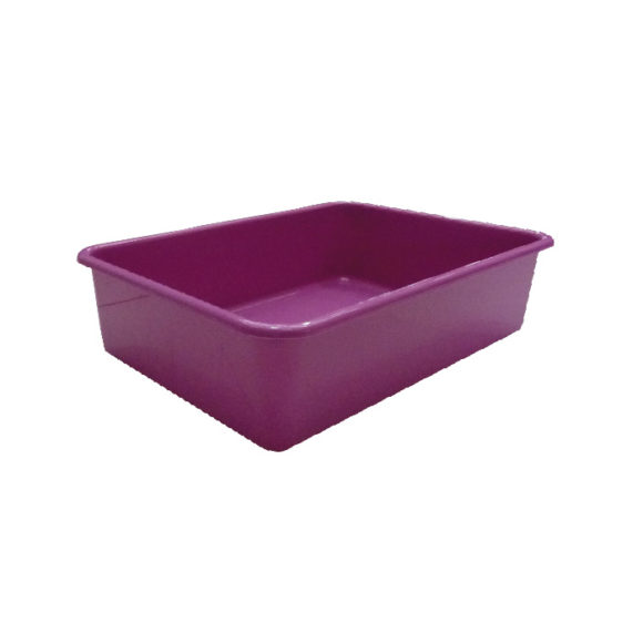K-9 Homes Deep Cat Litter Tray - Purple 1