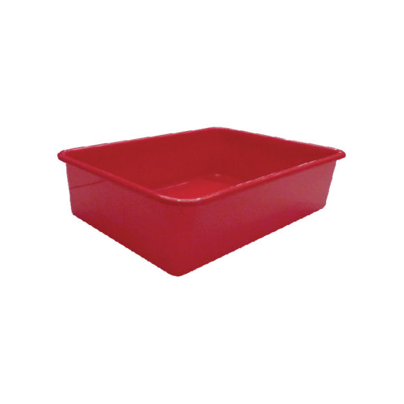 K-9 Homes Deep Cat Litter Tray - Red 1