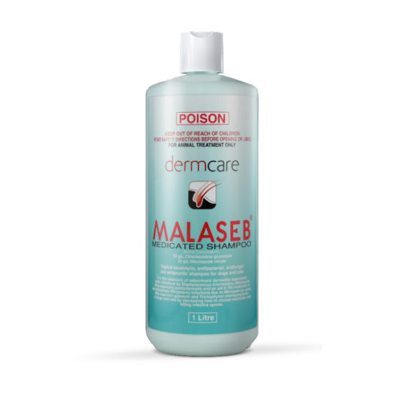 Malaseb Medicated Shampoo 1L 1