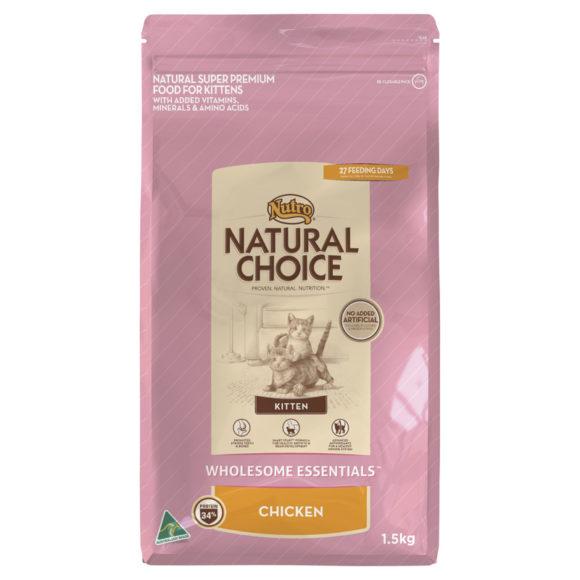 Nutro Wholesome Essentials Kitten Chicken 1.5kg 1