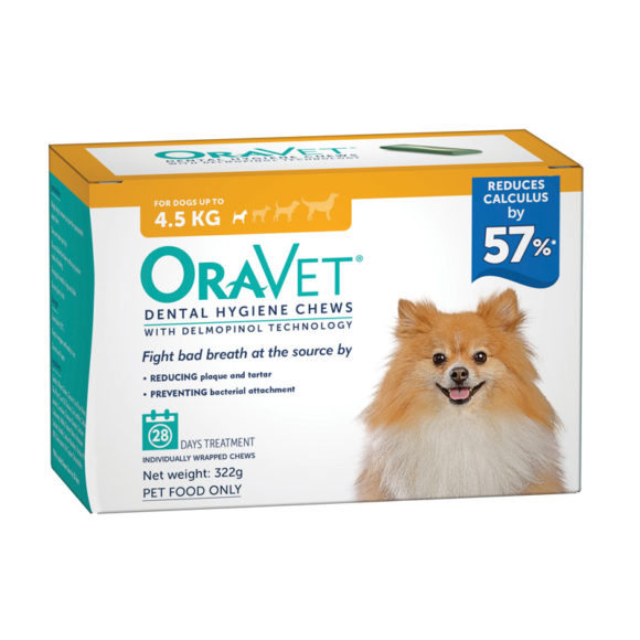 OraVet Dental Chews for Very Small Dogs - 28 Pack 1