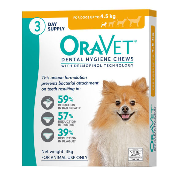 OraVet Dental Chews for Very Small Dogs - 3 Pack 1
