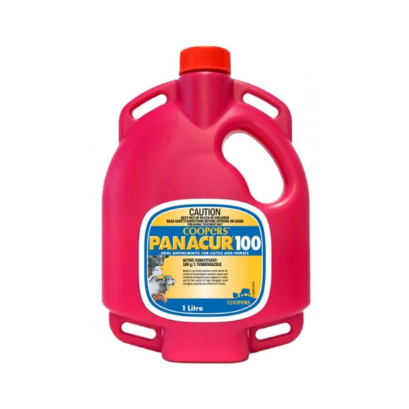 Coopers Panacur 100 Drench for Sheep, Cattle and Goats 1L 1