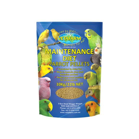 Vetafarm Parrot Maintenance Diet Pellets 10kg 1