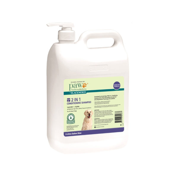 PAW 2 in 1 Conditioning Shampoo 5L 1