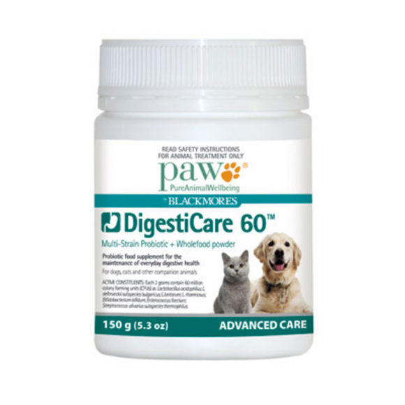 PAW DigestiCare 60 Probiotic Powder 150g 1