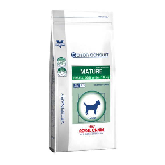 Royal Canin Vet Care Nutrition Senior Consult Mature Small Dog 3.5kg 1