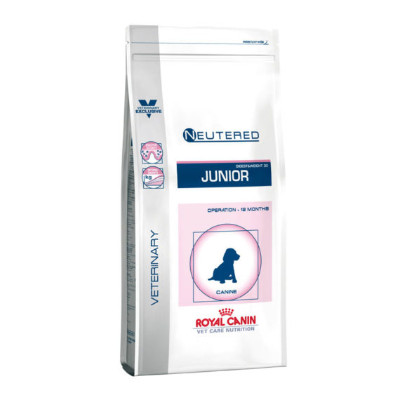 Royal Canin Vet Care Neutered Junior Medium Dog 10kg 1