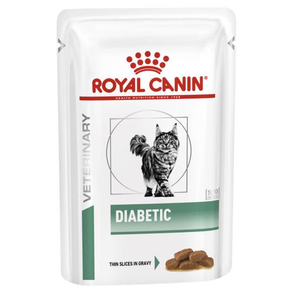 Royal Canin Vet Diet Diabetic Feline 85g x 12 Pouches 1