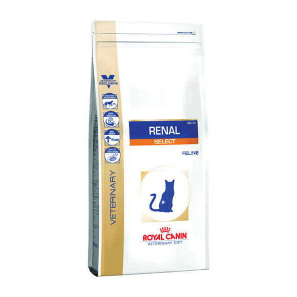 Royal Canin Vet Diet Feline Renal Select 2kg 1
