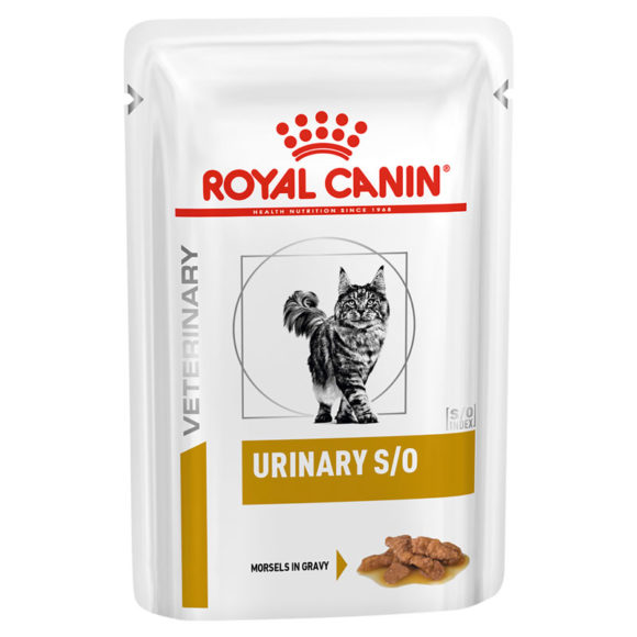 Royal Canin Vet Diet Feline Urinary S/O Chicken 85g x 12 Pouches 1