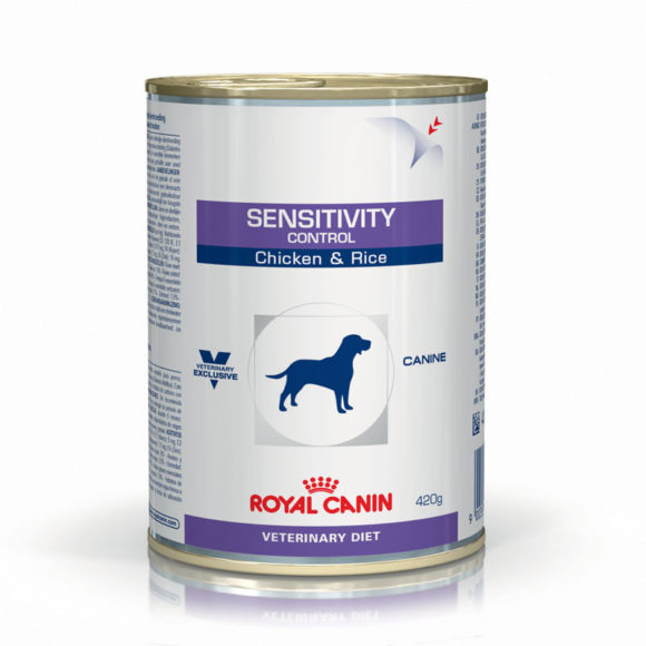 Royal Canin Vet Diet Canine Sensitivity Control Chicken & Rice 420g x 12 Cans 1