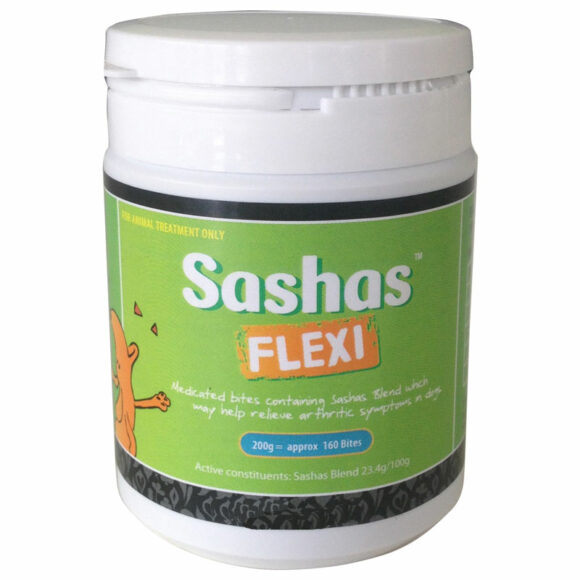 Sashas Flexi Joint Supplement Bites 200g 1