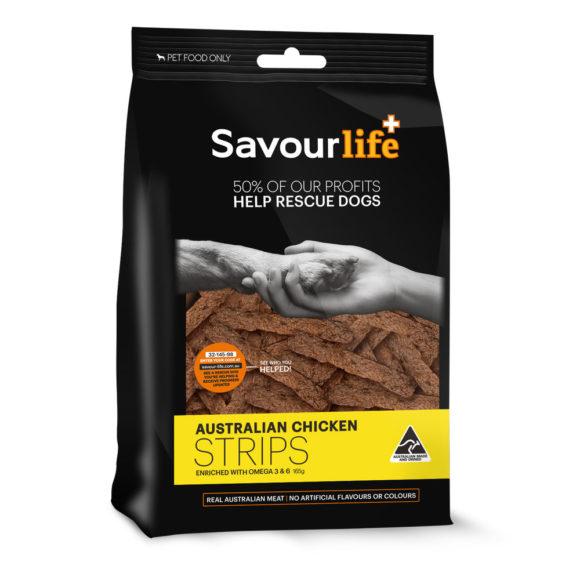 Savour Life Treats Chicken Strips 165g 1