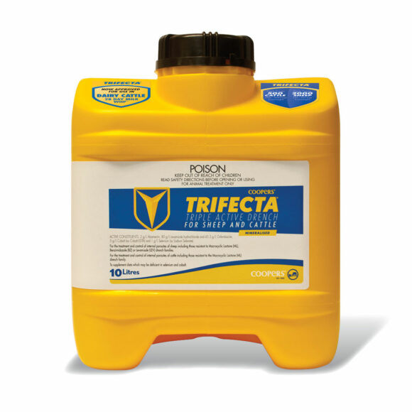 Trifecta Triple Active Drench for Sheep and Cattle 10L 1