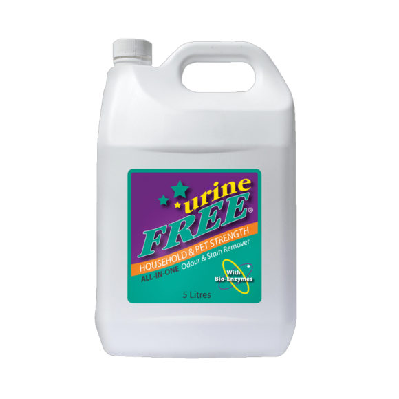 urineFREE All-In-One Odour & Stain Remover 5L 1